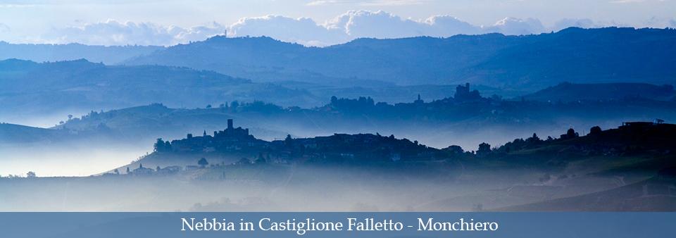 Nebbia in Castiglione Falletto - Monchiero